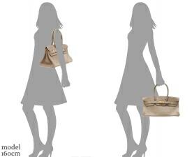 Hermes JPG Shoulder Birkin Gris tourterelle/Mouse grey Clemence leather Gold hardware