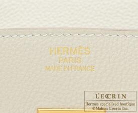 エルメス バーキン35 クレ トゴ ゴールド金具