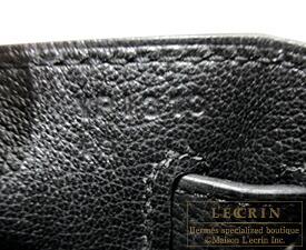 エルメス ケリー32/内縫い ブラック トゴ ゴールド金具