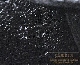 エルメス ケリー25/内縫い ブラック トゴ ゴールド金具