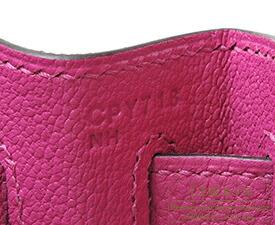 エルメス ケリー28/内縫い ローズパープル トゴ シルバー金具