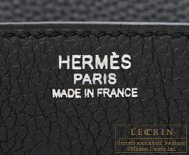 エルメス バーキン30 ブラック トゴ シルバー金具