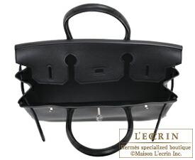 エルメス バーキン30 ブラック トリヨンノビーヨ シルバー金具