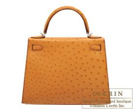 61f85187d06 Lecrin Boutique Tokyo  Hermes Kelly bag 28 Sellier Gold Ostrich ...