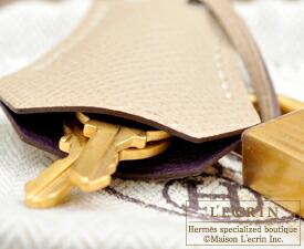 エルメス パーソナルケリー25/外縫い レザン/トレンチ ヴォーエプソン マットゴールド金具