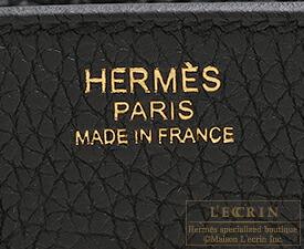エルメス バーキン30 ブラック トゴ ローズゴールド金具