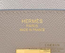 エルメス バーキン35 グリアスファルト ヴォーエプソン ゴールド金具