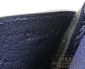 エルメス バーキン30 ブルーアンクル トリヨンクレマンス シルバー金具