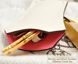 エルメス パーソナルケリー25/外縫い ローズアザレ/クレ ヴォーエプソン マットゴールド金具