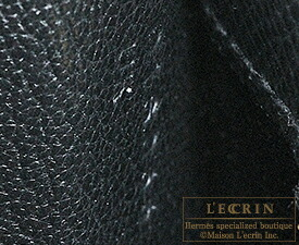 エルメス パーソナルケリー25/外縫い ブラック/クレ ヴォーエプソン シャンパンゴールド金具