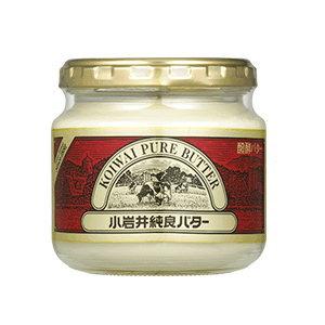 KOIWAI 小岩井乳業(小岩井牛乳) 小岩井純良バター瓶(ビン)