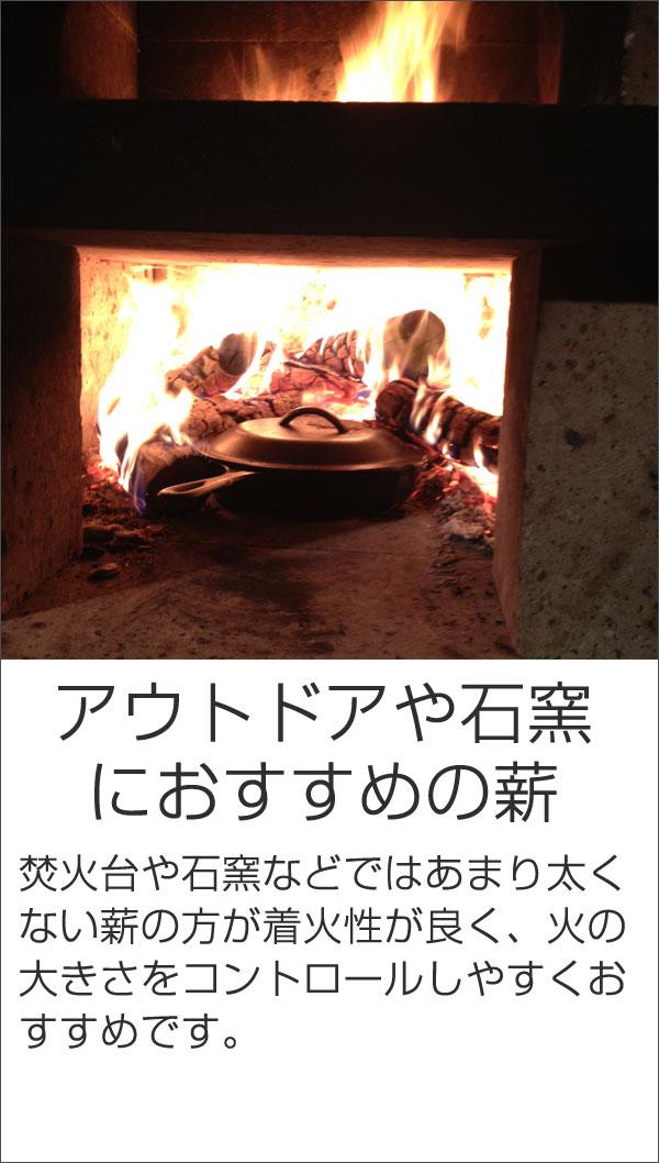 石窯におすすめの薪