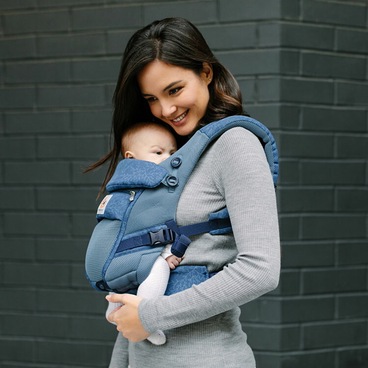 エルゴベビーアダプトスタンダードモデル抱っこ紐抱っこひもベビーキャリア新生児EBC3PADAPTクールエアダッドウェイ