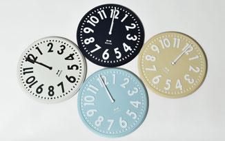 エンボス掛け時計
