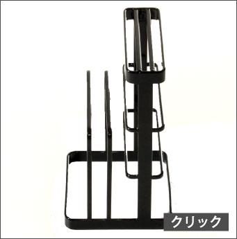 カッティングボード&ナイフスタンドtower(タワー)また板スタンド/まな板立て/収納ラック/キッチンラック