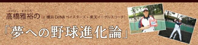 高橋雅裕の夢への野球進化論
