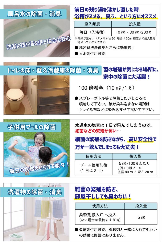 除菌クリヤの使い方2