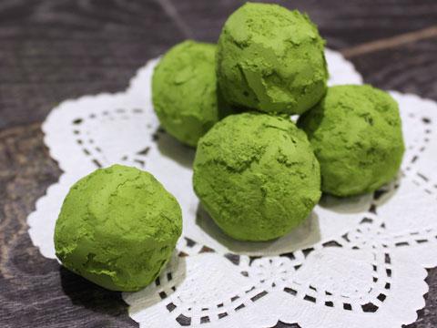 トリュフ・チョコレート(抹茶)