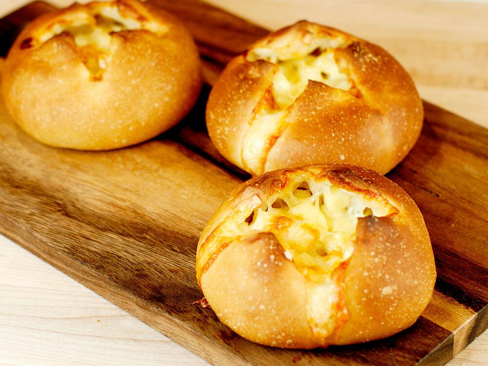 春よ恋100を使ったチーズのパン