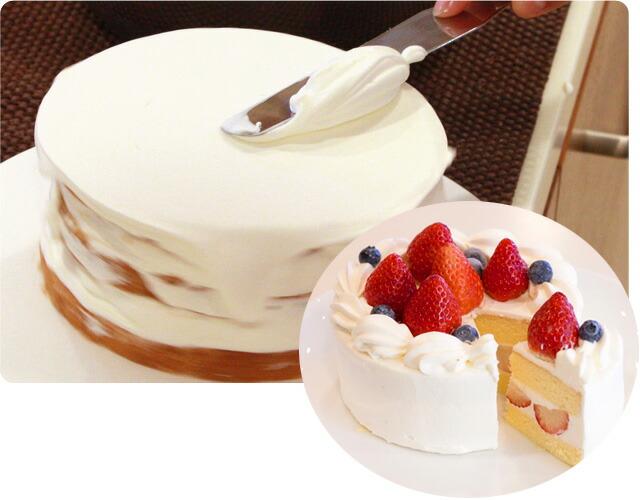 例:ショートケーキ