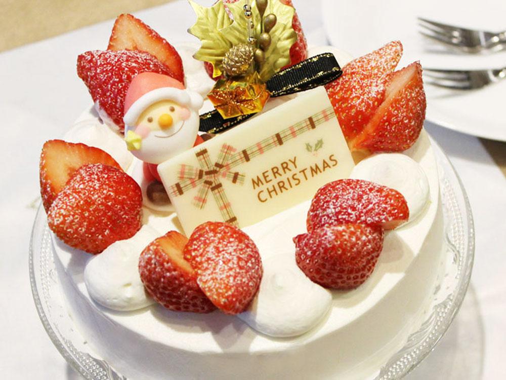 シンプルなクリスマスケーキ