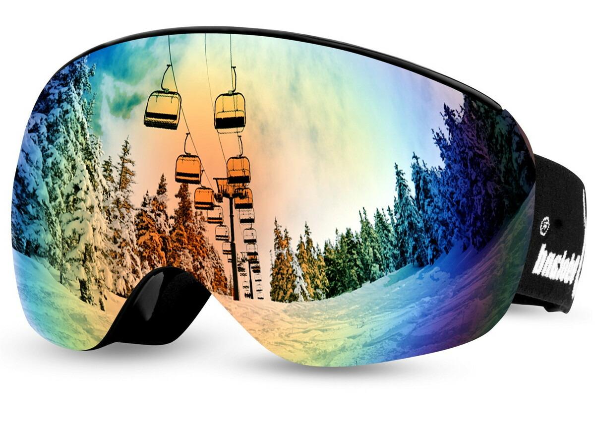 ODOLAND スキーゴーグル スノーゴーグル スノーボードゴーグル