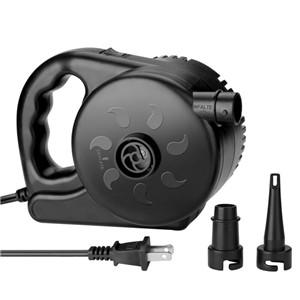 AGPtek 電動エアーポンプ 電動空気入れ 110V 280W 1.1PSI(7584Pa) ハイスピード 電子風船インフレータエアポンプ ノズル付き