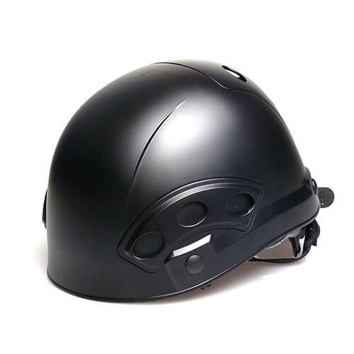 舞台関係者専用ヘルメット 狭所作業用 マットブラック