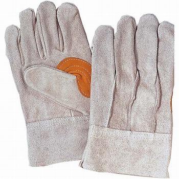親指又補強 背縫い革手袋 [10双入] 450 総革製