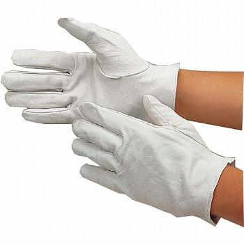 ピッグスキンクレスト手袋 [200双] 418 総革製