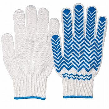 グッドキャッチ手袋(スベリ止付) 5双入×10セット [総数50双] G-322 混紡(コンボー) 厚手