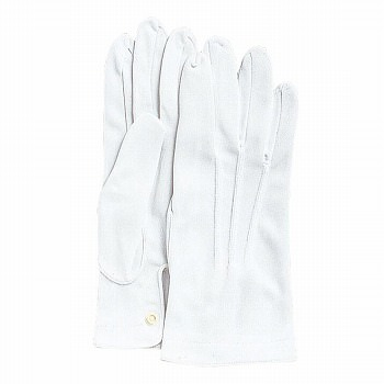 礼装用手袋(ナイロンダブル)ホック付 [480双入] 545 ナイロン マチ付き