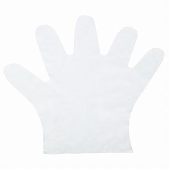 ポリエチディスポ(LD) [100枚入] 248 ポリエチレン・ポリプロピレン 粉なし
