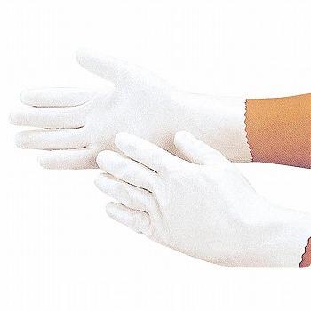 耐油軽量ウレタン手袋 [100双入]SW138 SW-138 ゴム手袋 裏毛なし