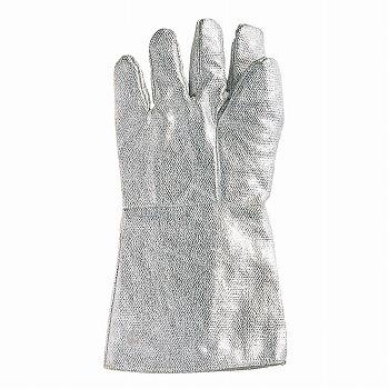 耐熱アルミ手袋 5本指35cm [30双入] D