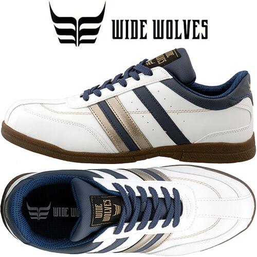 WIDE WOLVES ワイドウルブス WW-303 紐靴 JSAA規格 プロテクティブスニーカー