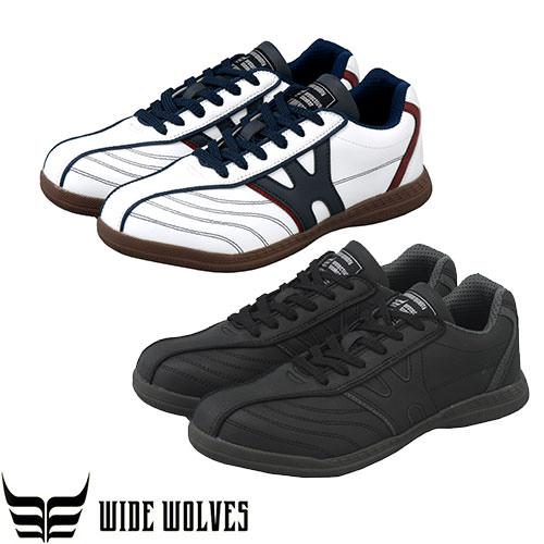 ワイドウルブズ ローカット 紐タイプ WW-115、WW-116 紐靴 JSAA規格 プロテクティブスニーカー