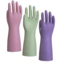 在庫処分特価 ナイスハンド 厚手箱入 [60双入] ビニール手袋 裏布あり
