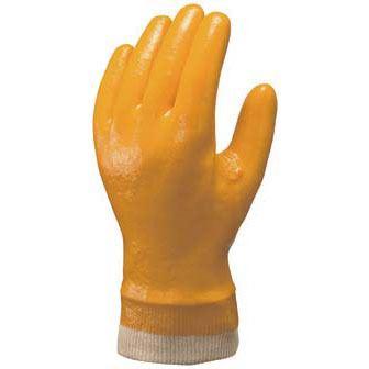 耐油作業用手袋ハイロン#30 (ジャージ付) [10双入] No.30 ビニール手袋 裏布あり