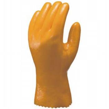 耐油作業用手袋ハイロン#40 [10双入] No.40 ビニール手袋 裏布あり