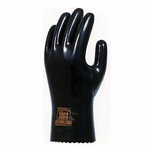 ダイローブ 裏地付静電気対策用 [10双入] 3000 ゴム手袋 裏布あり