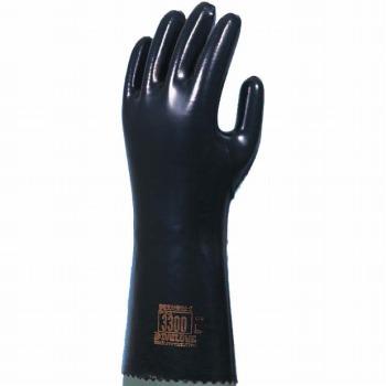 ダイローブ 裏地付静電気対策用 ロング [10双入] 3300 ゴム手袋 裏布あり