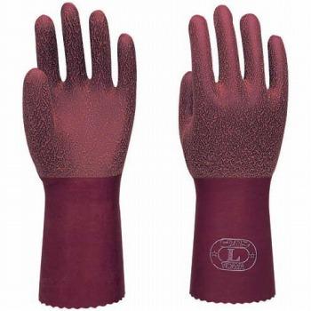 在庫処分特価 トワロンロング 天然 [5双入] No.152 ゴム手袋 裏布あり