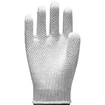 滑り止め手袋 ソフトドライブ [12双入] #101 純綿 薄手