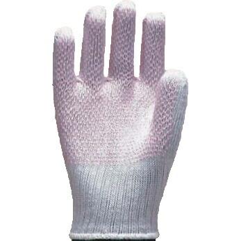 滑り止め手袋 ソフトドライブ女性用 [12双入] #103 純綿 薄手