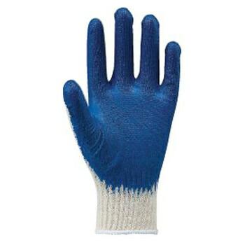 ゴム引きファイト ブルー 10双組×5セット [総数50双] 108-10P 作業手袋