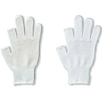 ロングフィンガー V 2本指カット [5双入り] 1815 純綿 薄手