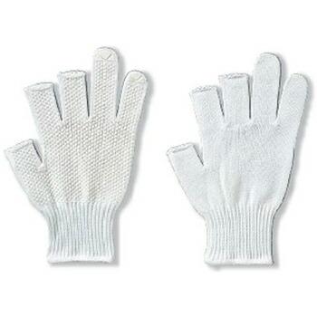 ロングフィンガー W 3本指カット [5双入り] 1816 純綿 薄手