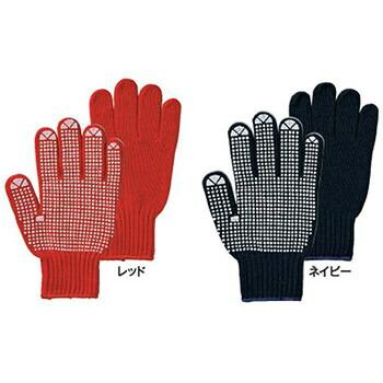 ビニボン カラー 女性用 [5双入り] 128-LA 化学繊維 厚手