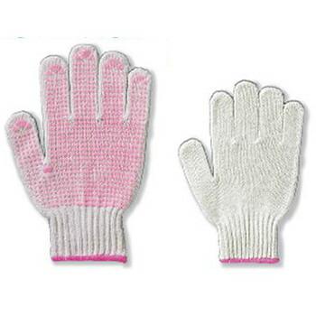 すべり止め手袋 女性用 5双組×5セット [総数25双] 4990-LA-5P 化学繊維 厚手
